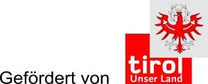 Logo Gefoerdert von der Tiroler Landesregierung