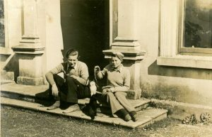 EvG and Isabel, Ireland, ca. 1945